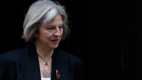 Britain's Home Secretary Theresa May - Sputnik International
