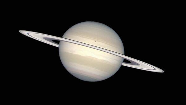 Saturn in natural colours - Sputnik International