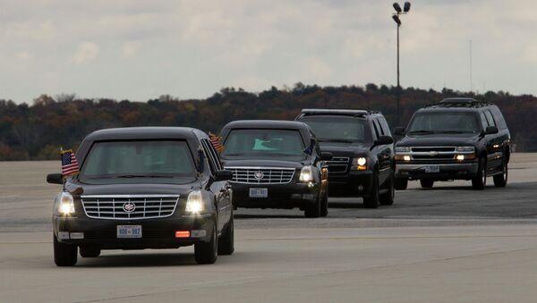 Presidential motorcade. - Sputnik International