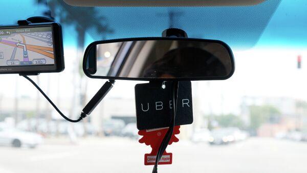 Uber taxi service - Sputnik International