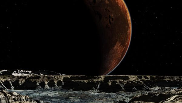 An image of Pluto and Charon From Hydra - Sputnik International