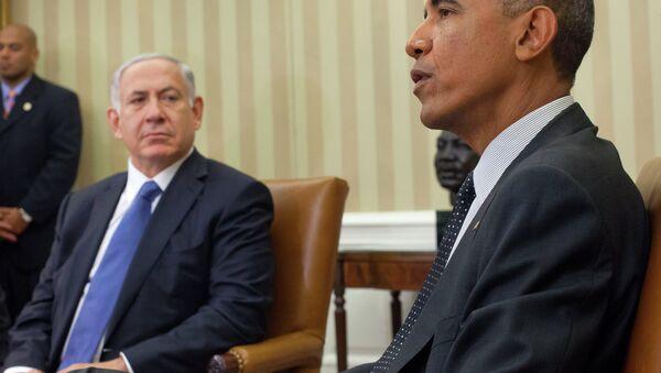 President Barack Obama won't meet with Benjamin Netanyahu when the Israeli Prime Minister addresses Congress in March. - Sputnik International