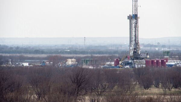 Oklahoma, Texas and Kansas have been witnessing tens of temblors, which scientists link to hydraulic fracking and its wastewater wells in the area. - Sputnik International