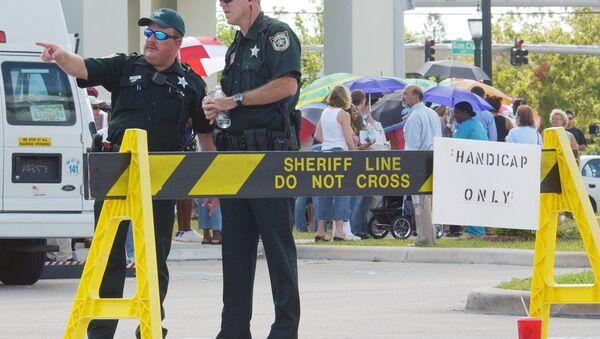 Police officers in Palm Beach, Florida. - Sputnik International