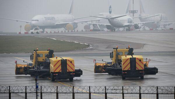 Plane crashes at Vnukovo airport - Sputnik International