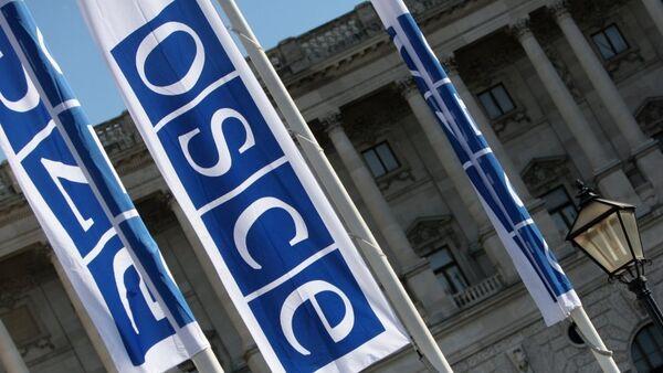 OSCE flags - Sputnik International