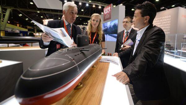 Открытие 24-й Международной выставки военно-морской техники и вооружения Euronaval 2014 - Sputnik International