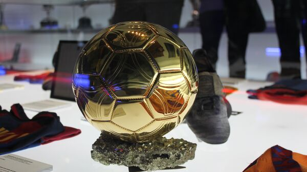 Stade du Barca, ballon d'or - Sputnik International