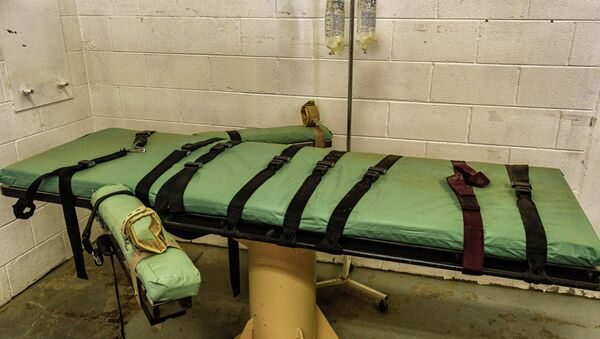Death by lethal injection was the most common form of capital punishment employed in Texas. - Sputnik International