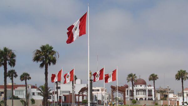 La Punta, Lima, Peru. Flags - Sputnik International