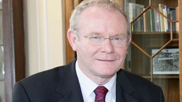 Deputy First Minister of Northern Ireland Martin McGuinness - Sputnik International