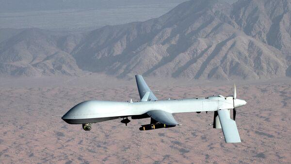 A US drone strike kills at least four militants in the village of Nargas, the Azam Warsak district of Pakistan. - Sputnik International