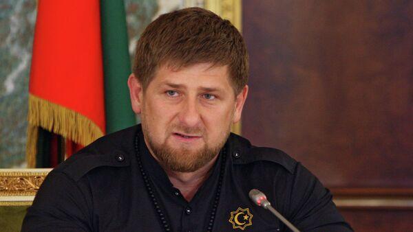 Head of Chechen Republic Ramzan Kadyrov - Sputnik International