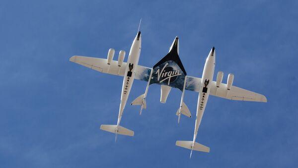 SpaceShipTwo - Sputnik International