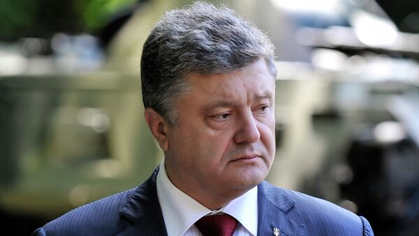 The German government is disappointed in Petro Poroshenko's presidency that failed to stabilize the situation in Ukraine - Sputnik International