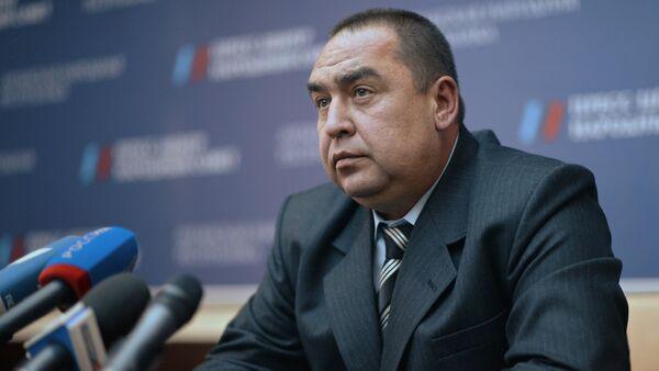 Igor Plotnitsky wins Luhansk elections - Sputnik International