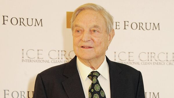 In an article titled Wake Up, Europe!, George Soros said that Russia's policy toward Ukraine represents a threat to the very existence of the European Union - Sputnik International