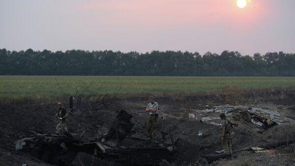 Lugansk People's Republic militia take over Dolzhansky border crossing point on Russian border - Sputnik International