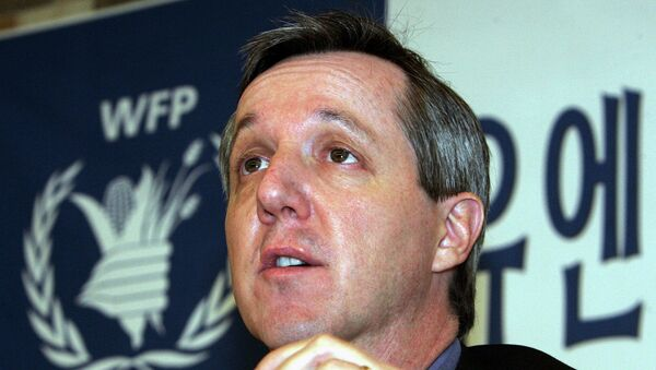 The head of the UN Mission for Ebola Emergency Response (UNMEER) Anthony Banbury. - Sputnik International