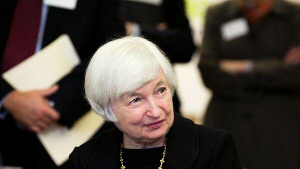 Federal Reserve Chair Janet Yellen - Sputnik International