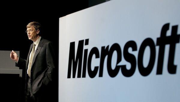Microsoft Corporation Chairman, Bill Gates - Sputnik International