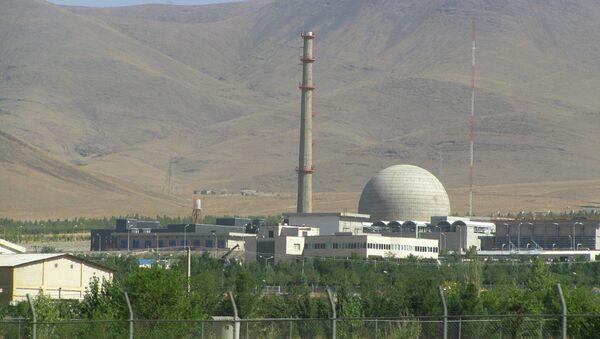Arak IR-40 Heavy Water Reactor, Iran - Sputnik International