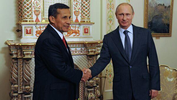 Peru is in talks to buy passenger planes from Russia's United Aircraft Corporation (UAC), President Vladimir Putin said after talks with his Peruvian counterpart Ollanta Humala. - Sputnik International