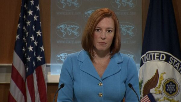 The United States will continue to provide only non-lethal assistance to Ukraine, despite the passage of a bill in the Senate to provide Kiev with lethal assistance, but the US stance could change, State Department spokesperson Jen Psaki has said. - Sputnik International