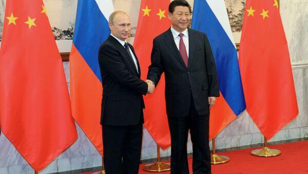 President Putin's visit to China - Sputnik International