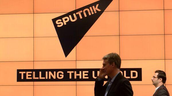 Presentation of the major international news brand, Sputnik - Sputnik International