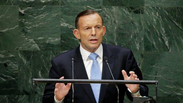 Abbott to take Russia-Australia talks further at G20 Summit - Sputnik International