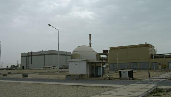 Nuclear power plant in Bushehr (Iran) - Sputnik International