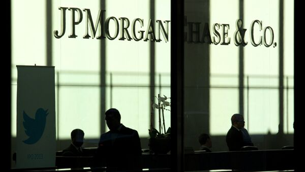 JP Morgan offices are seen in New York, in this file photo taken October 25, 2013 - Sputnik International