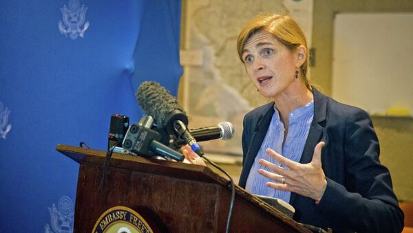 US Ambassador to the UN Samantha Power slammed North Korea amid the Security Council's discussion of a report on the human rights situation in the country - Sputnik International