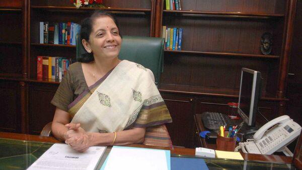 India's Commerce Minister Nirmala Sitharaman - Sputnik International