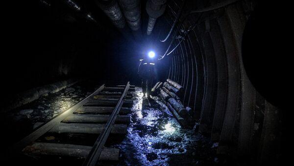 Over 100 Miners Blocked in DPR Over Damaged Power Transmission Line - Sputnik International