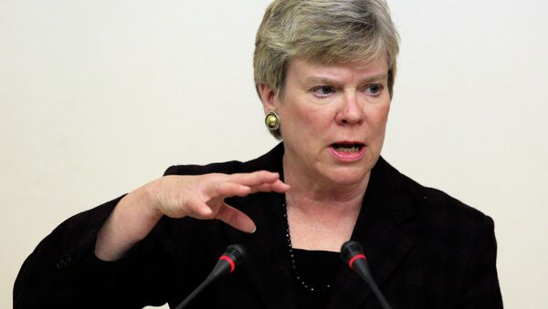 US Under Secretary of State for Arms Control and International Security Rose Gottemoeller said that Russians have been good partners at the negotiating table. - Sputnik International