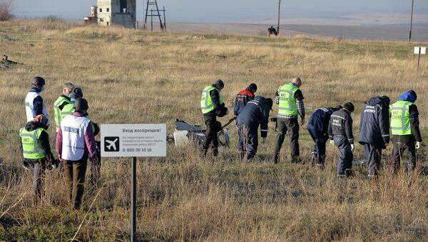 OSCE experts examine Malaysian aircraft crash site - Sputnik International