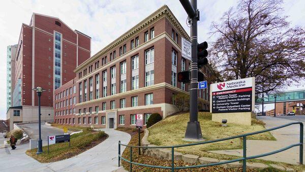 The Nebraska Medical Center is seen in Omaha, Neb., Friday, Nov. 14, 2014. - Sputnik International