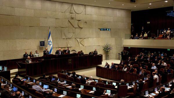 The opening session of the Knesset - Sputnik International
