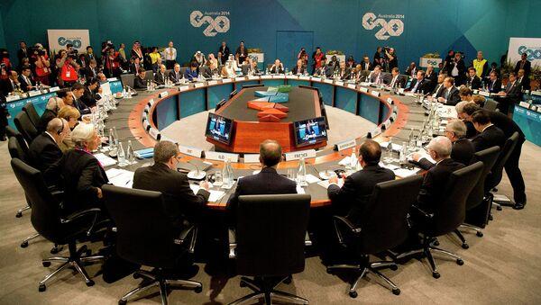 G20 Summit - Sputnik International