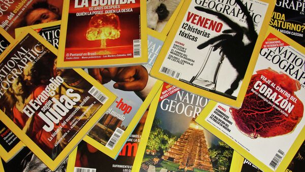 A number of well-known Sanoma Media magazines including the Esquire Ukraine, National Geographic, Harper's Bazaar and Men's Health are closing down in Ukraine. - Sputnik International