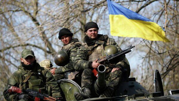 Ukrainian soldiers - Sputnik International