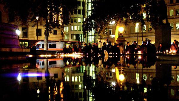 The No To Hate Crime vigil in London's Trafalgar Square - Sputnik International