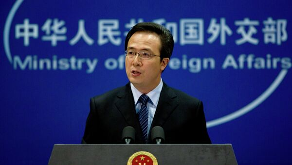 Chinese Foreign Ministry spokesman Hong Lei said China speaks against politicizing human rights issue in North Korea - Sputnik International