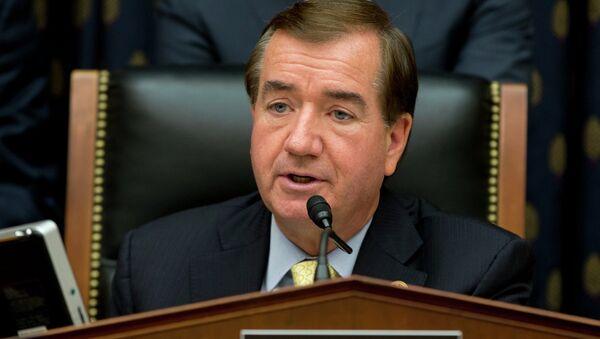 House Foreign Affairs Committee Chairman Ed Royce, R-Calif., speaks on Capitol Hill in Washington, Thursday, Sept. 18, 2014 - Sputnik International