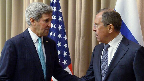 Sergei Lavrov meets with John Kerry in Geneva - Sputnik International