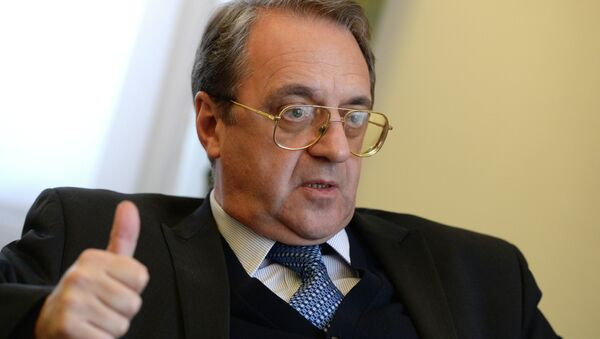 Russian Deputy Foreign Minister and Special Presidential Representative for the Middle East Mikhail Bogdanov - Sputnik International