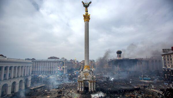 Maidan Square in Kiev, Ukraine - Sputnik International
