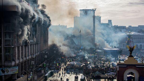 Ukraine's Euromaidan protests mark first anniversary - Sputnik International